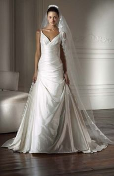 Pronovias Diamante Wedding Dress - my one