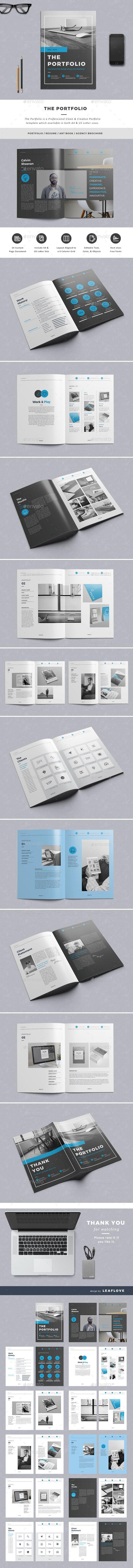 The Portfolio - Portfolio Brochures | Portfolio | Pinterest ...