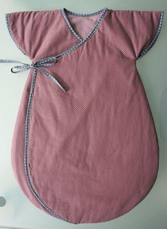 Fabuleux Gro Bag, turbulette, gigoteuse. Patron gratuit, free pattern  UN85