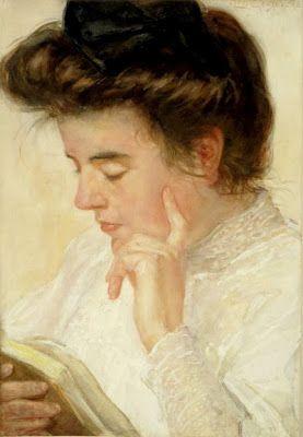 Leo van Gestel, Een lezende dame