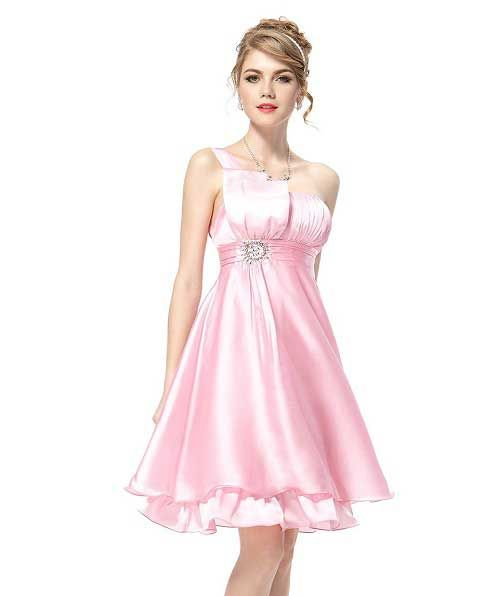 pink short under 50 dollars very beautiful formal prom dresses 2014 ...