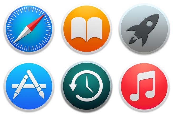 Inspecting Yosemite S Icons Icon Design Stock Icon Yosemite