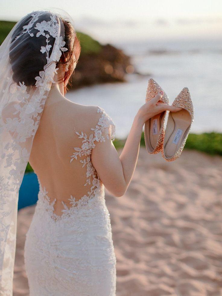 Glamouröse Maui-Hochzeit in Burnt Orange & Dusty Rose