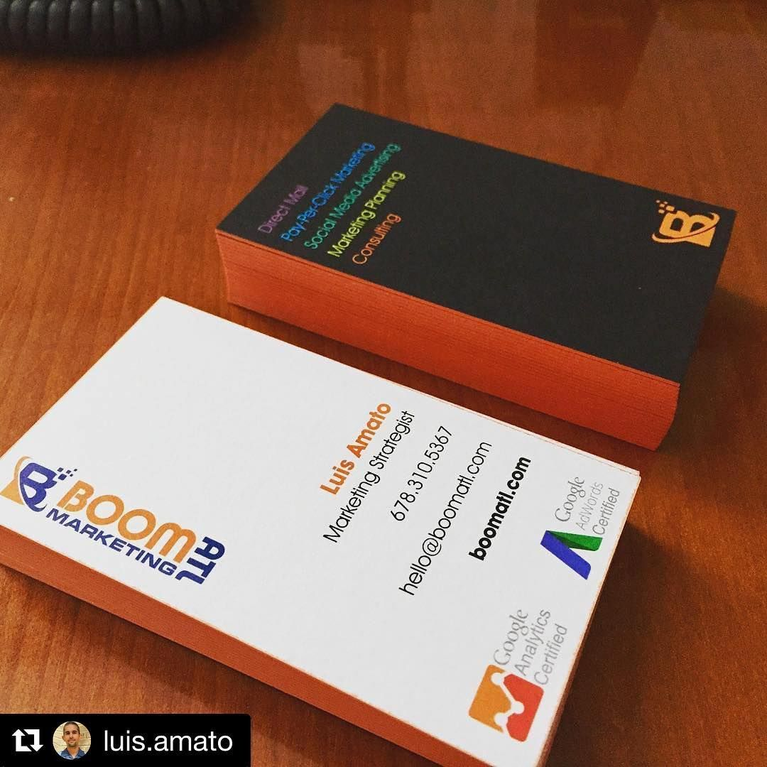 We think your #businesscards are on 🔥 @luis.amato. They look ...