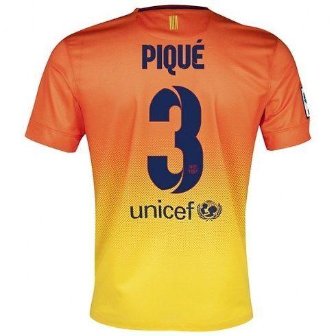 Piqué del Barcelona 2012/13 Away Camiseta fútbol Niño [837] - €16.87 : Camisetas de futbol baratas online!   http://www.8minzk.com/f/Camisetasdefutbol/
