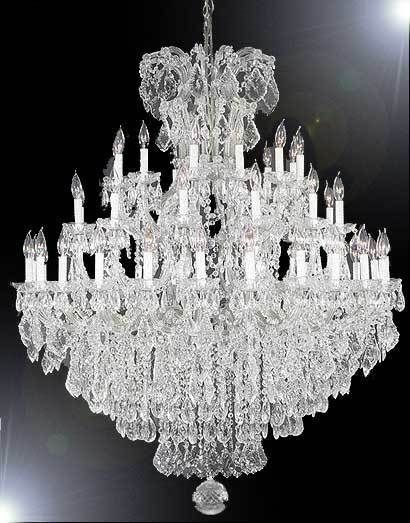 Maria theresa large entryway foyer chandelier crystal chandeliers maria theresa large entryway foyer chandelier crystal chandeliers lighting 52x60 foyer chandelier maria theresa and foyers aloadofball Image collections