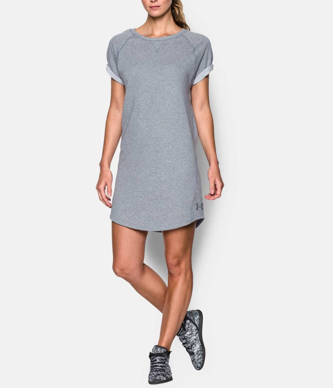 c5817ca5daa Shop Under Armour for Women's UA Favorite French Terry Tunic Dress in our  Womens Tops department. Free shipping is available in US.