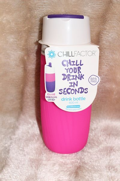Chill your drink in seconds with the super cool ChillFactor
