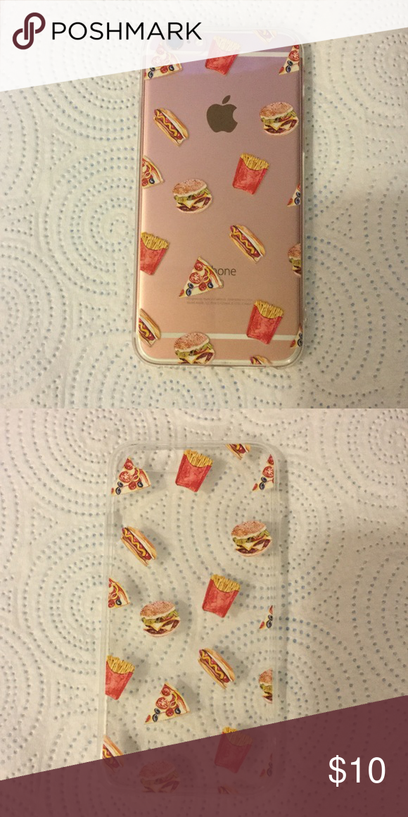 emoji hamburger and fries iphone 6 6s case 50 off flexible case brand new emoji accessories phone cases phone case accessories emoji accessories iphone pinterest