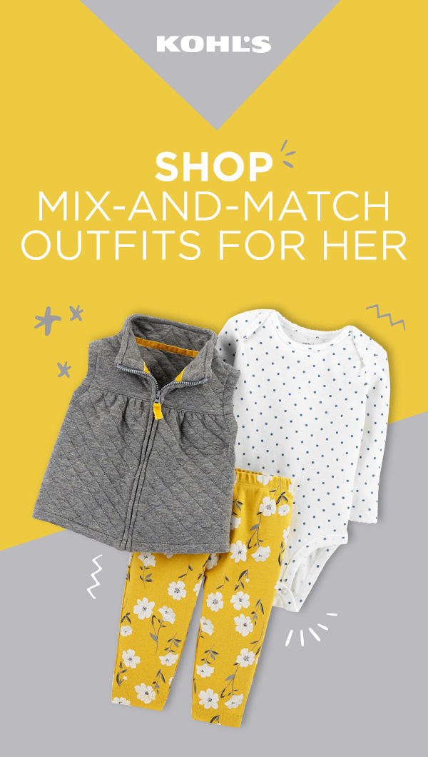 Kohls Baby Clothes Interesting Complete Your Little One's Wardrobe With Baby Clothes From Kohl's