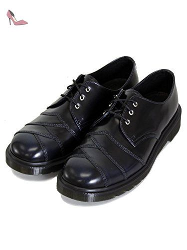 aca704013468 Dr Martens Stax Core-Homme-Bleu Marine-T Chaussures en cuir Premium ...