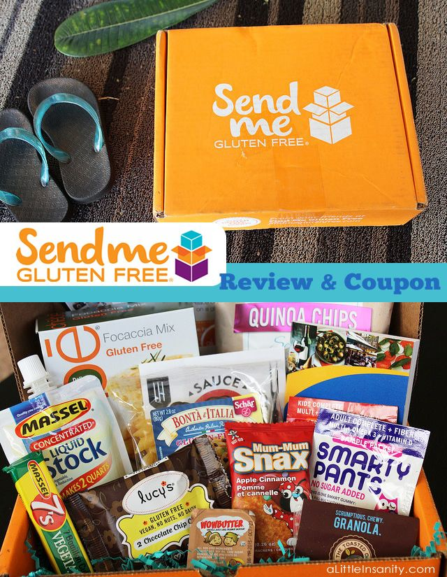 Here's my review of 'Send Me Gluten Free' Box - Plus a 20% Off Coupon Code for you to use! #GlutenFree #Review #SendMeGF