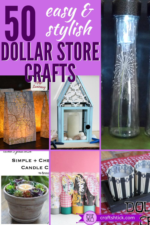 16 diy projects Dollar Store kids ideas