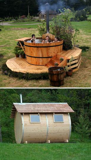 Pin Von Carlos Torres Auf Construccion Creativa Spa Design Garten Whirlpool Garten