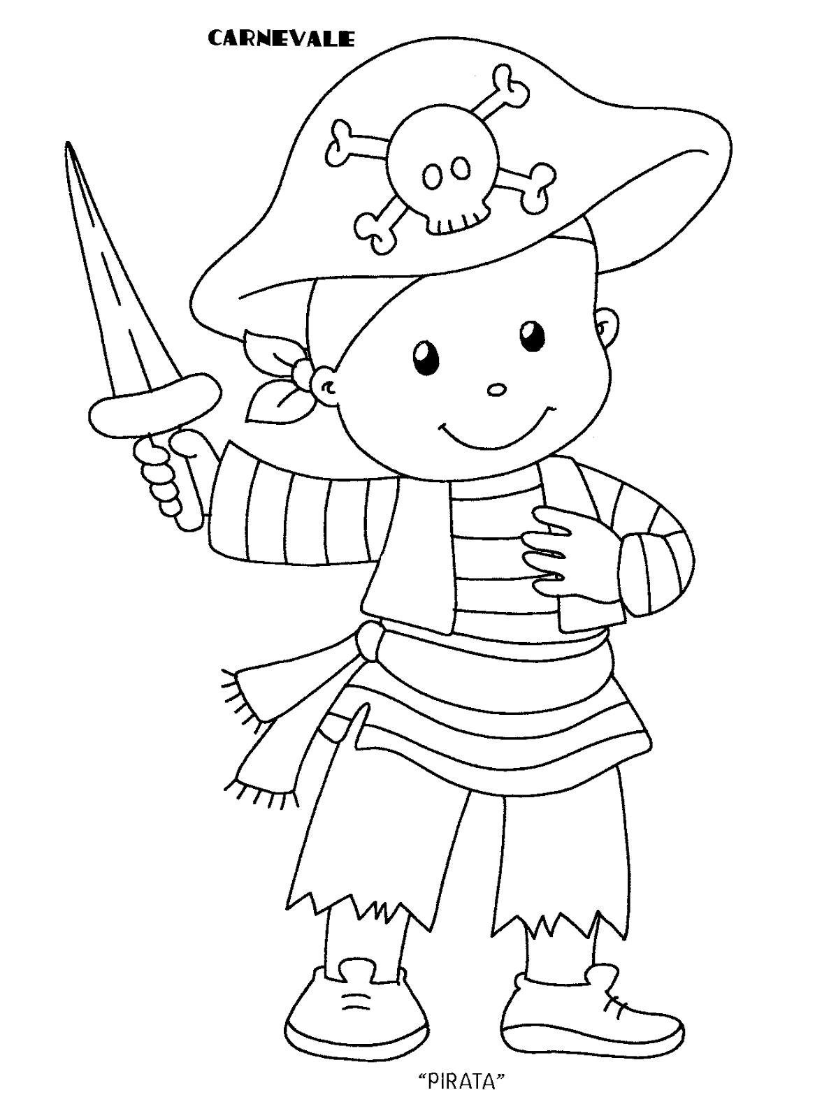Blog Scuola Schede Didattiche Scuola Dell Infanzia La Maestra Linda Schede Didattiche Da Scaricare Attivita Pirata Tema Pirata Carnevale