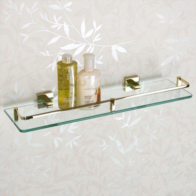 Albury Tempered Glass Shelf Tempered glass shelves, Glass shelves