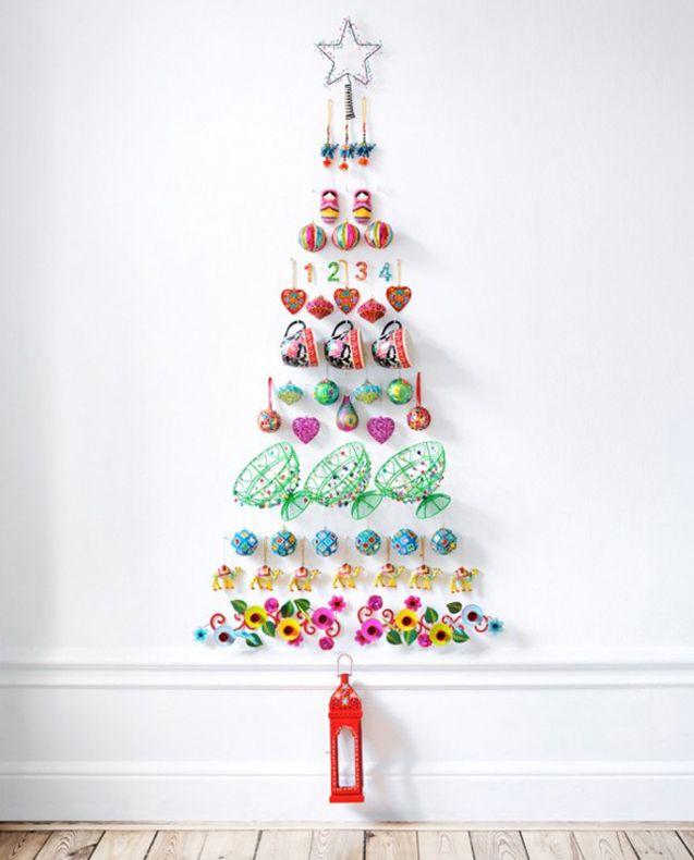 blog Vera Moraes - Decoração - Adesivos Azulejos - Papelaria Personalizada - Templates para Blogs: Árvore de Natal de Parede
