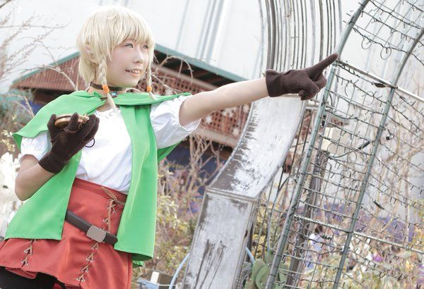@Kyo_cosplay #Linkle cosplay #Zelda30 #HyruleWarriorsLegends