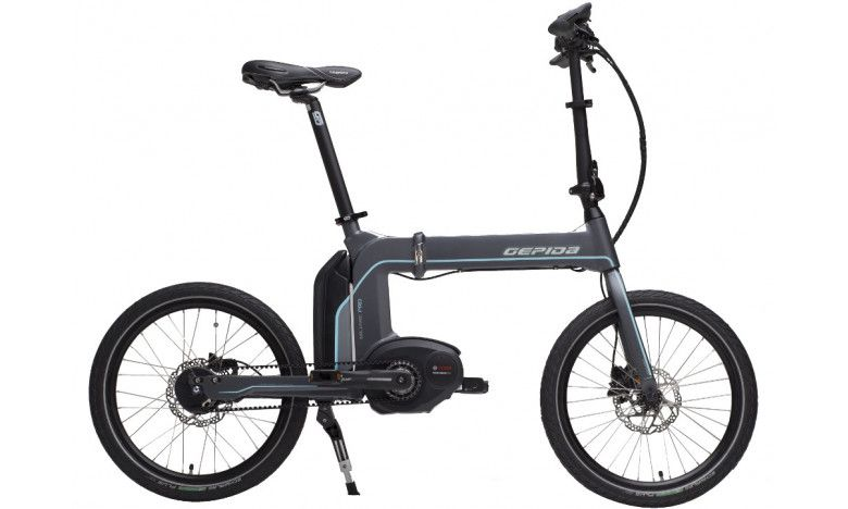 Gepida Miliare Pro Folding Bosch Electric Bike