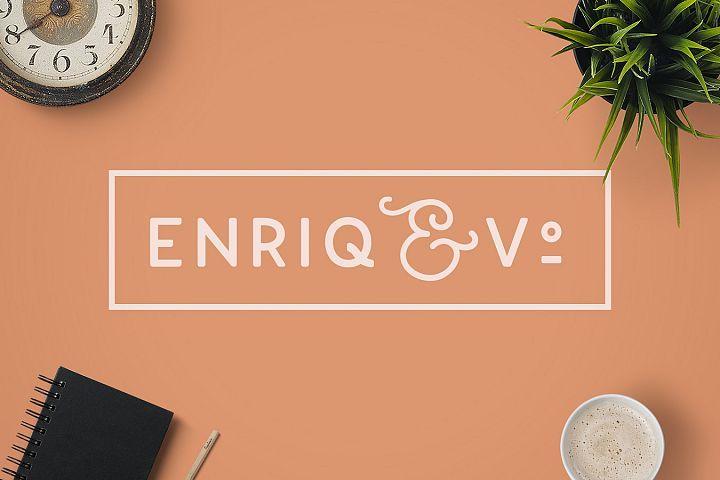 Download Enriq Round Sans Serif Font Fonts Style 2019