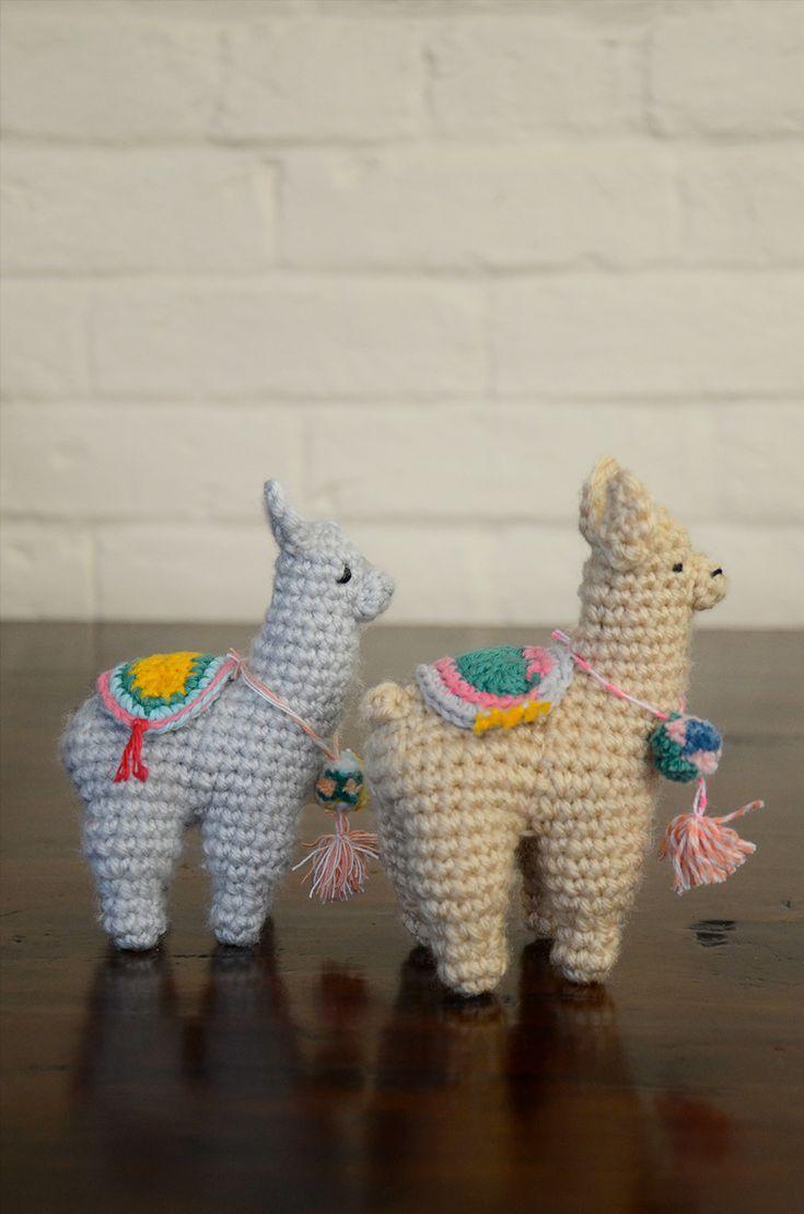 Excepcional Patrón Llama Crochet Componente - Manta de Tejer Patrón ...