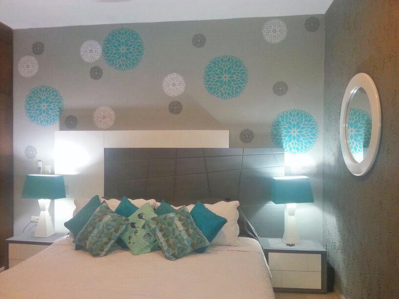 Itzel nos comparti la decoraci n que hizo con nuestro sd - Decoracion en tonos turquesa ...