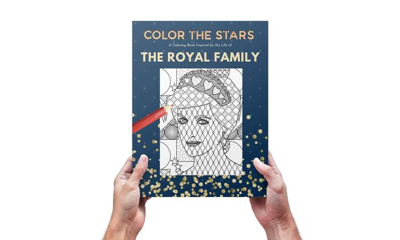 The Royal Family Inspired Coloring Book Etsy Coloring Books Digital Download Etsy Books