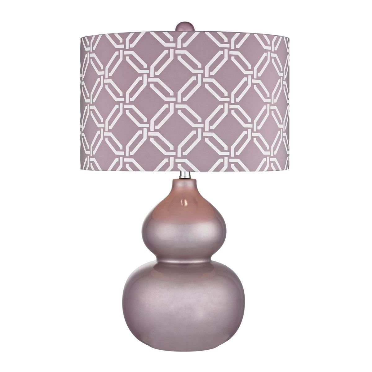 Dimond lighting lilac table lamp with linked rings shade d2528 dimond lighting lilac table lamp with linked rings shade d2528 geotapseo Image collections
