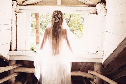 2015 Boho Bridal Veils: We've got you Covered  F E S T I V A L   B R I D E S