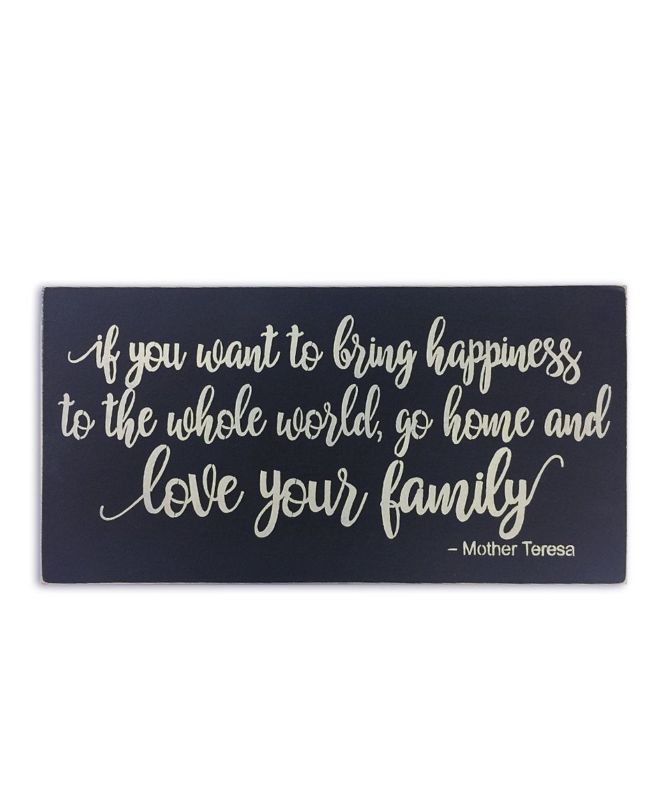 Take a look at this 'If You Want To Bring Happiness To The Whole World' Wall Art today!
