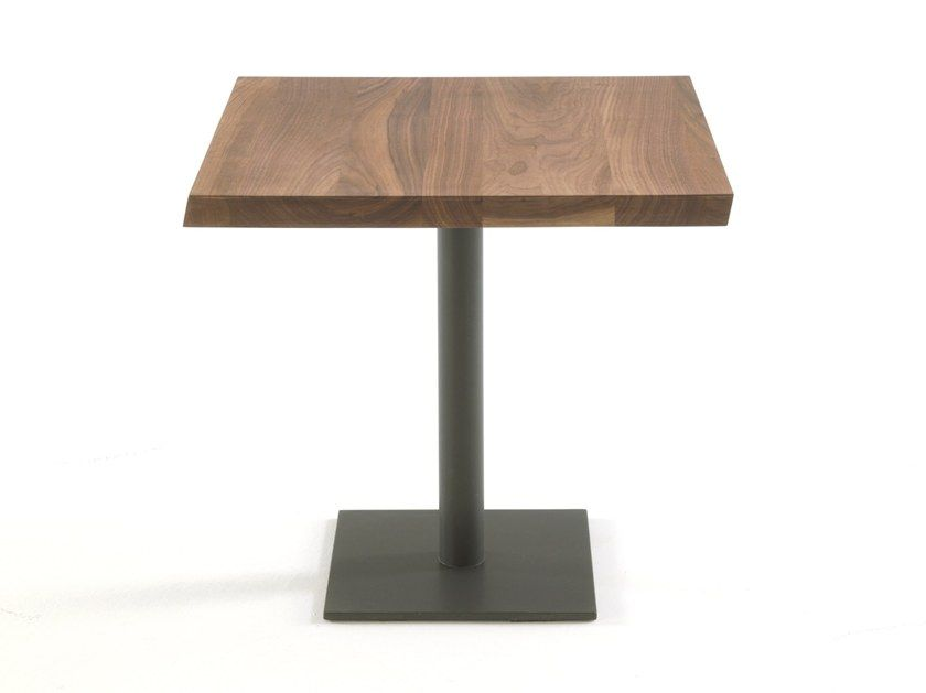 Square Solid Wood Table With Images Wood Table Design