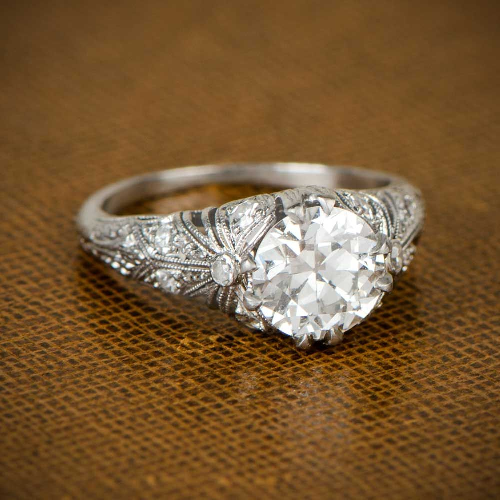 Edwardian Engagement Ring Beautiful Weight Loss Tips