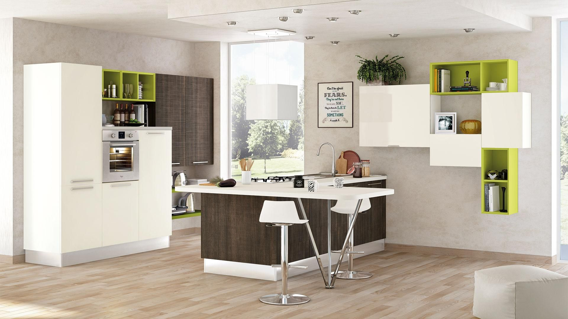 Noemi - Cucine Moderne - Cucine Lube | Cocinas | Pinterest