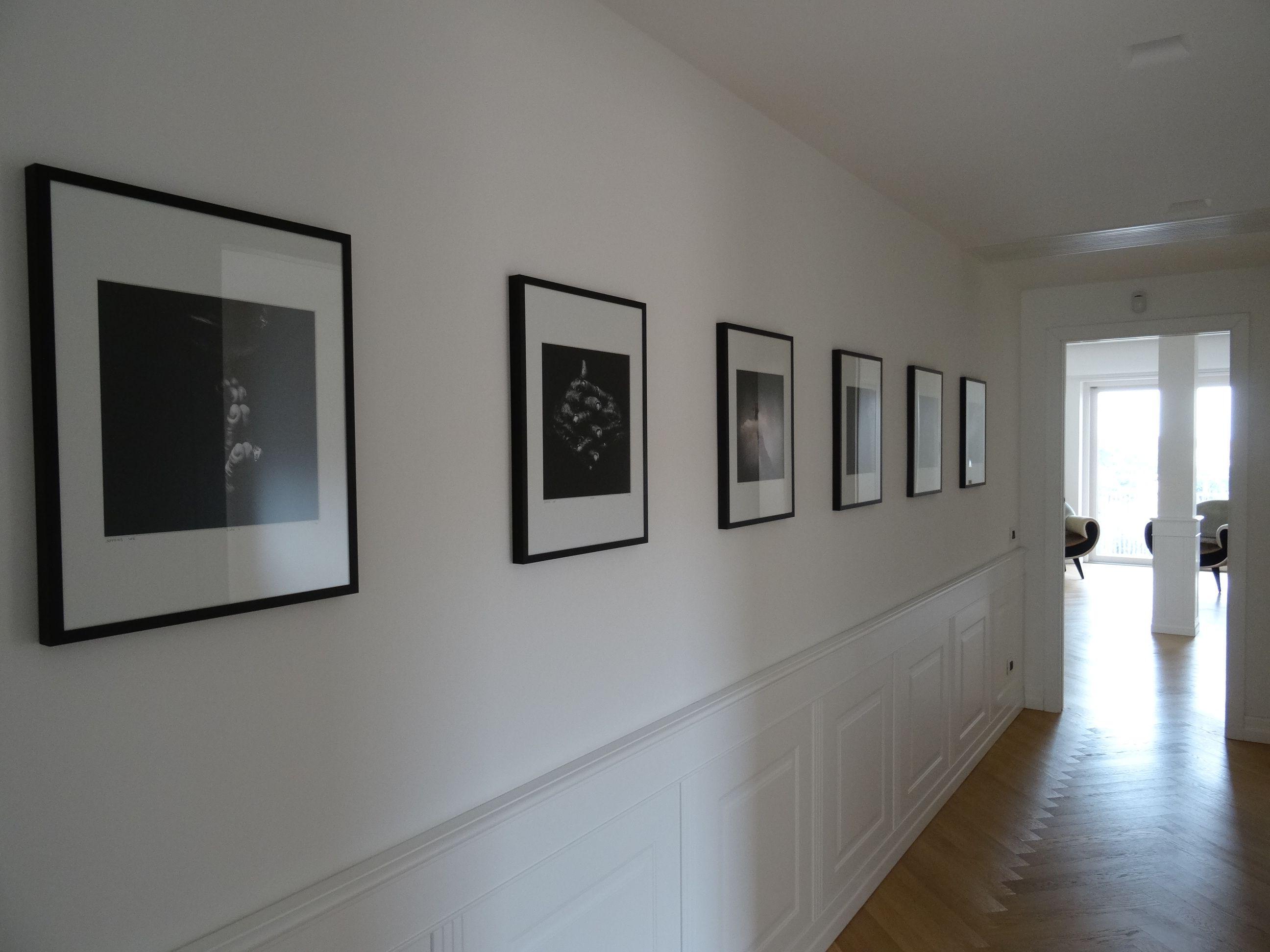 Arredare Corridoio ~ Arredare con la fotografia corridoio con foto b n archedy