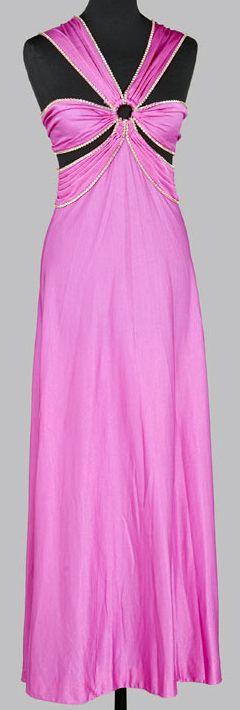 Azzaro - Robe de Soirée - Rose - 1975