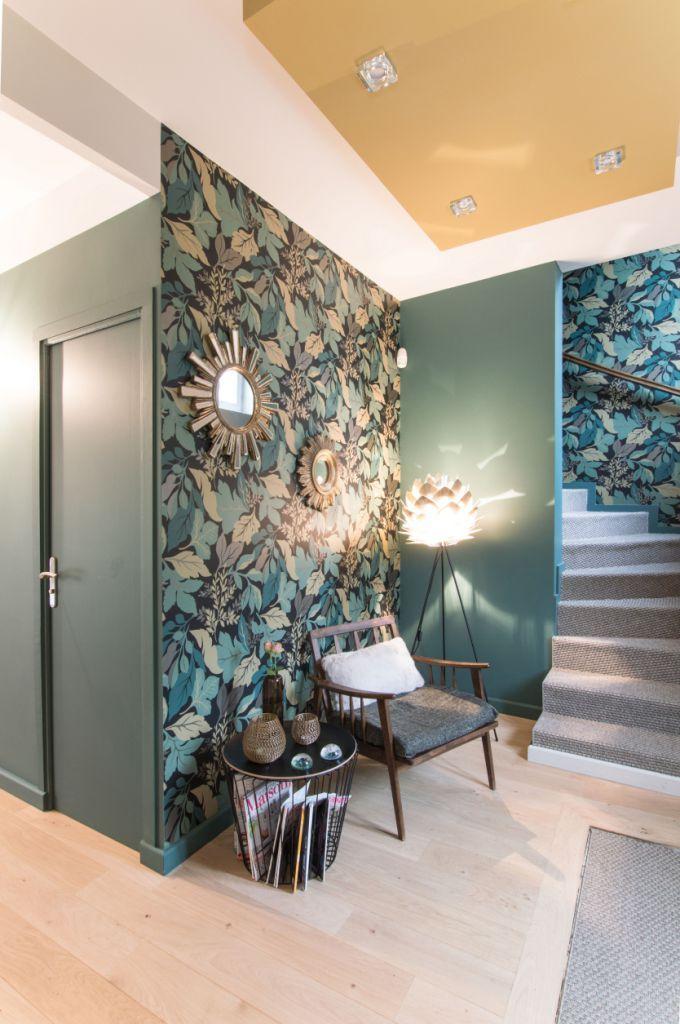 Rénovation de maison  Oasis Verte Entrée dans la maison
