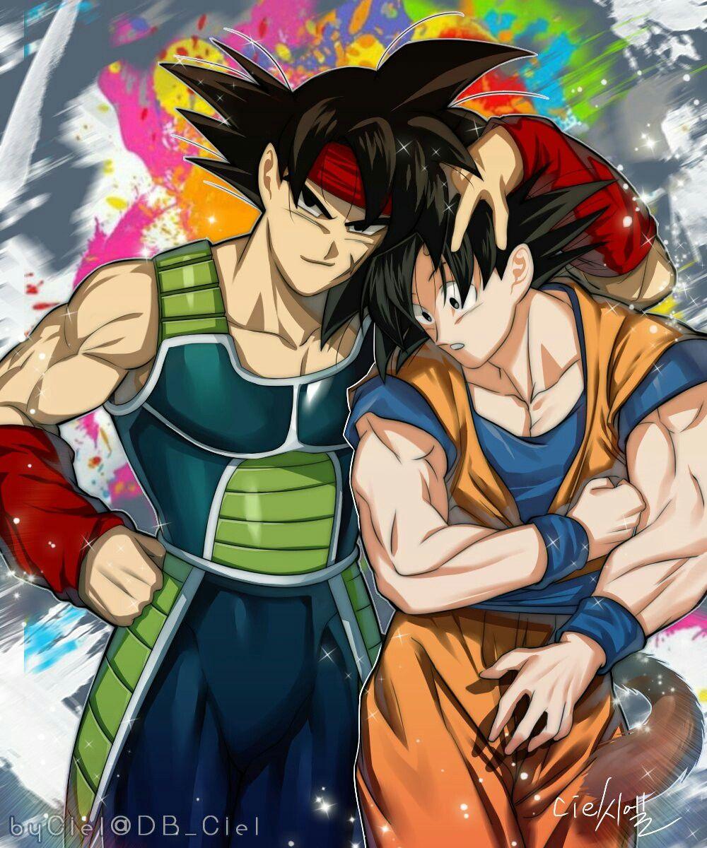 Bardock And Goku Dragon Ball Super Artwork Dragon Ball Image Dragon Ball Super Goku