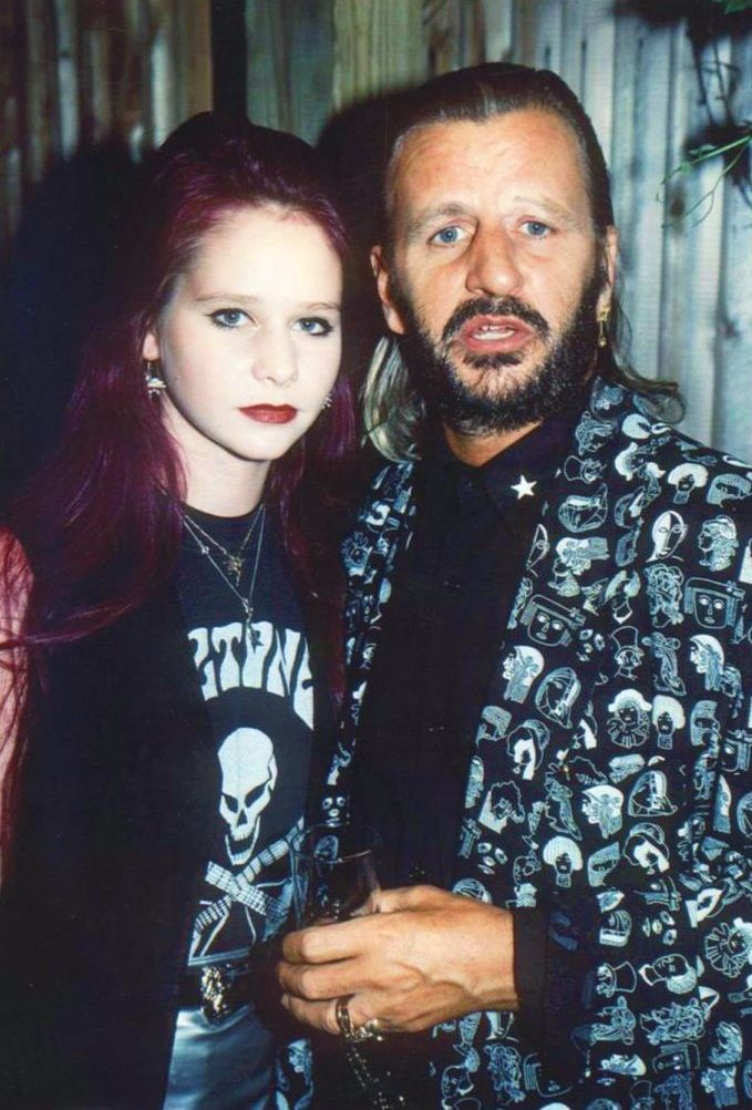 1990s, Ringo & his daughter Lee (With images) | Ringo ...
