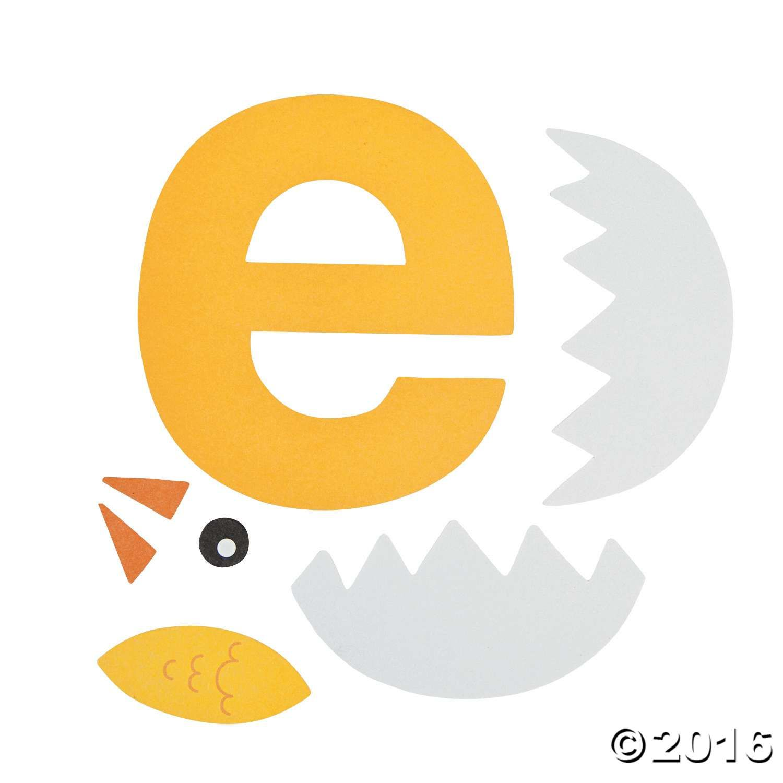 E Is For Egg Letter E Craft Kit Makes 12 4 1 4 X 4 1 2