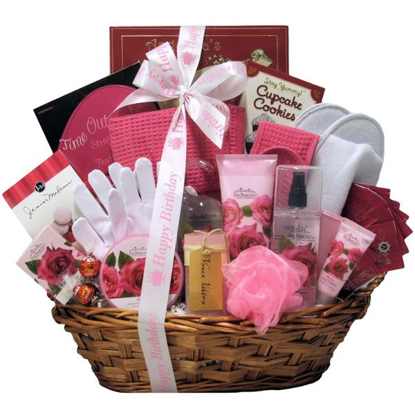 Spa Birthday Gift Basket For Women