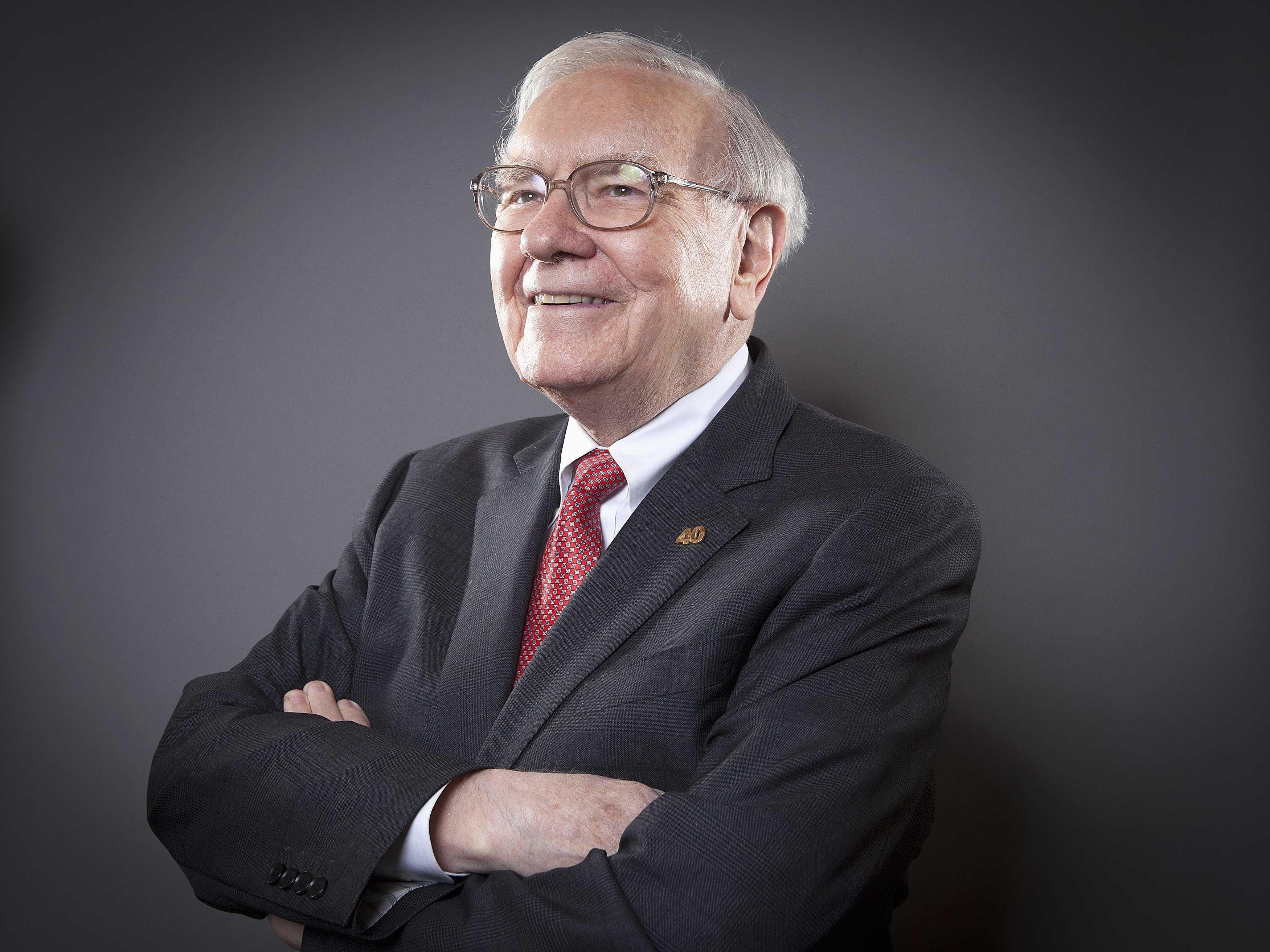 Warren Buffett slå aktieindex