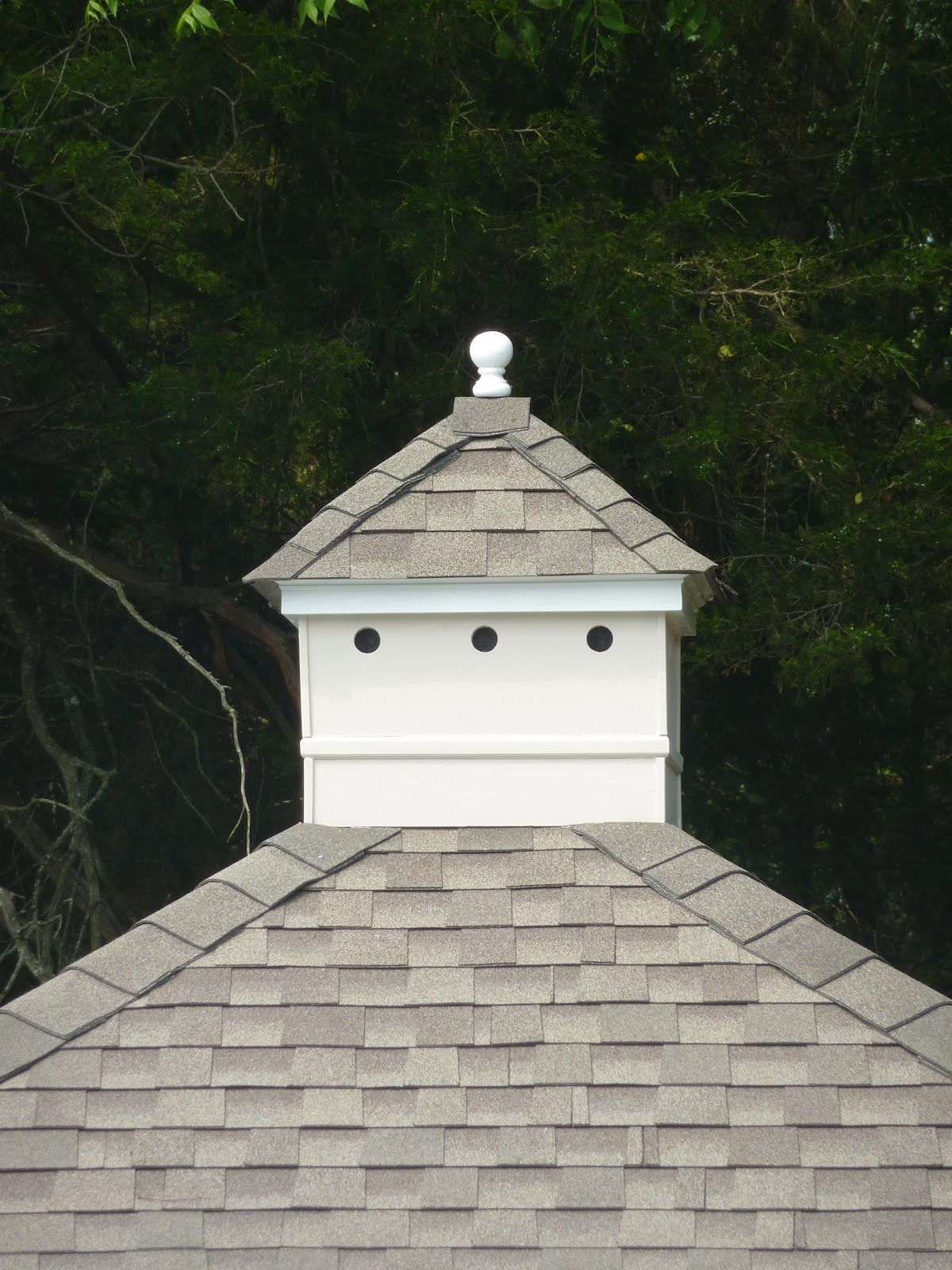 Love cupolas cottage living from beach to burbs a for Shed roof cottage