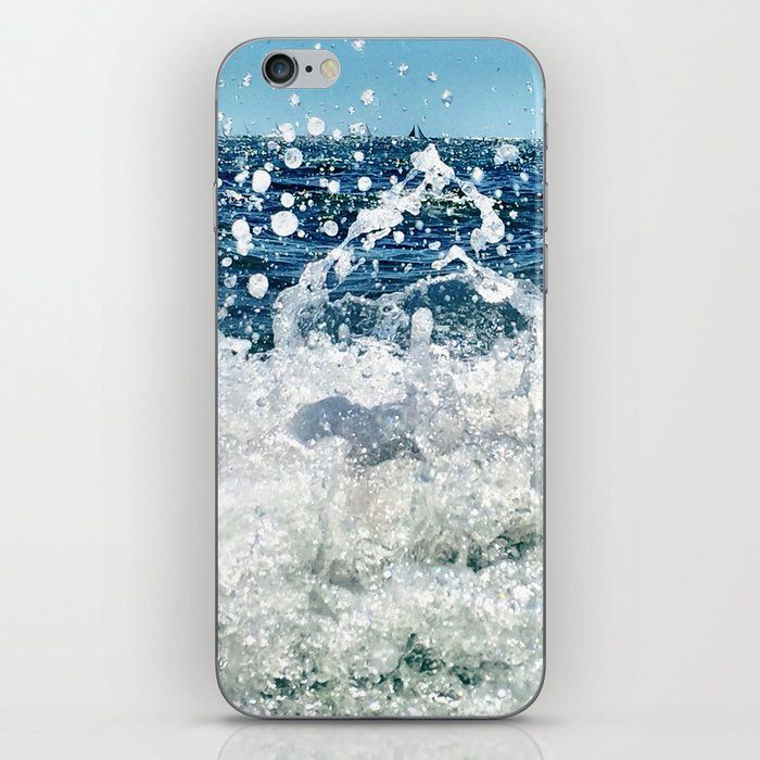 Surface Iphone Skin by Gale Switzer - iPhone X
