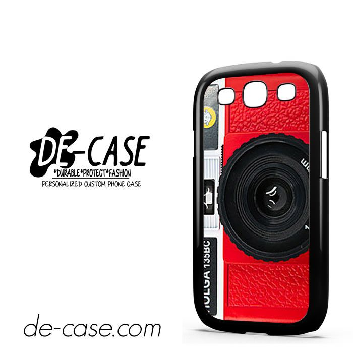 Red Holga Camera For Samsung Galaxy S3 Case Phone Case Gift Present YO