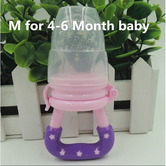 Free Shipping - Portable Infant Food Nipple Feeder Silicone Pacifier Fruits Feeding Etc.