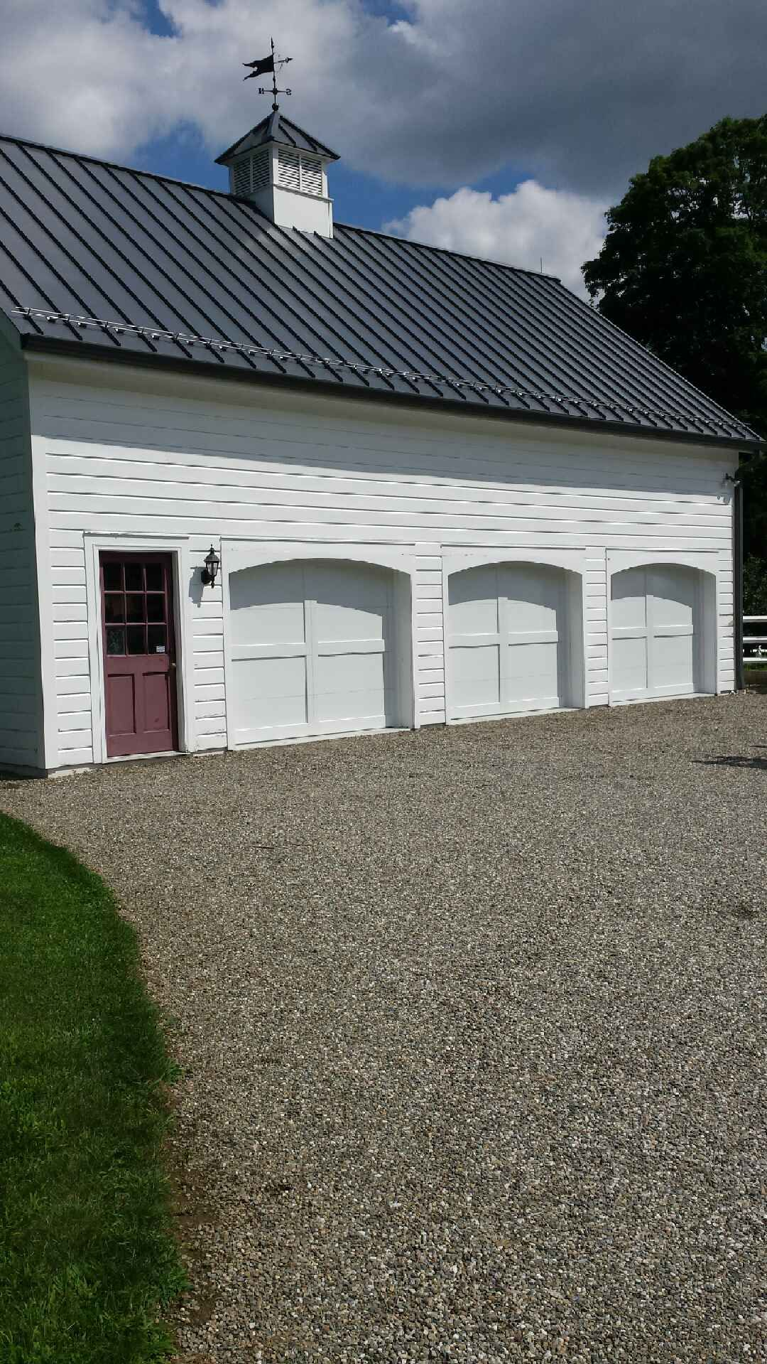 CHI Steel Carriage House Overlay Door No Windows Insulated Dutchess  Overhead Doors, Inc. Poughkeepsie