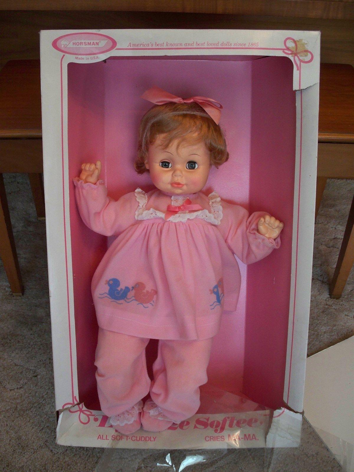 Vintage 70s Horsman Life Size Softee 21 1 2 Quot Doll Sleepy