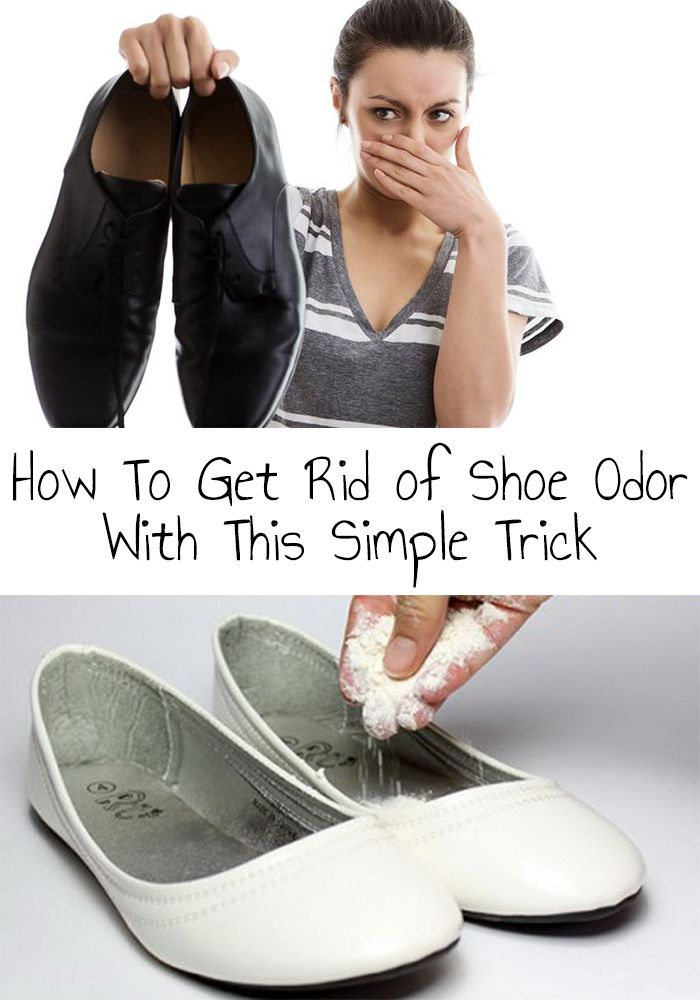 Shoe Odor How To Get Rid Of Shoe Odor With This Simple Trick