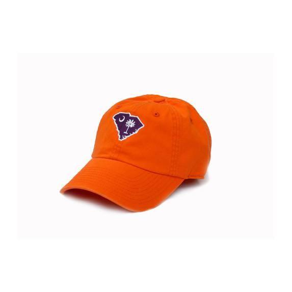 a9ce299aff9 South Carolina Clemson Gameday Hat Orange