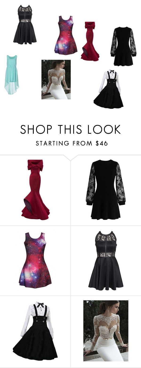 """Light"" by rebelheartbreaker ❤ liked on Polyvore featuring Carolina Herrera, Chicwish, AX Paris and Duck Farm"
